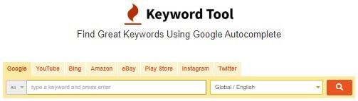 Alternativa gratis seo keywordtool