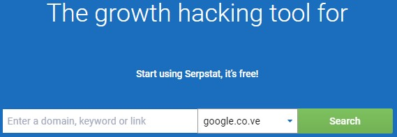 Serpstat herramienta de seo gratis